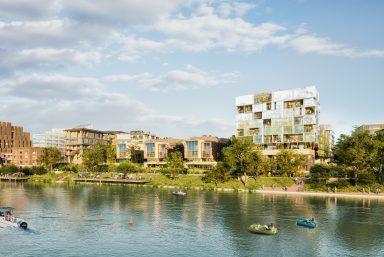 Ecoquartier fluvial : les projets architecturaux enfin révélés !