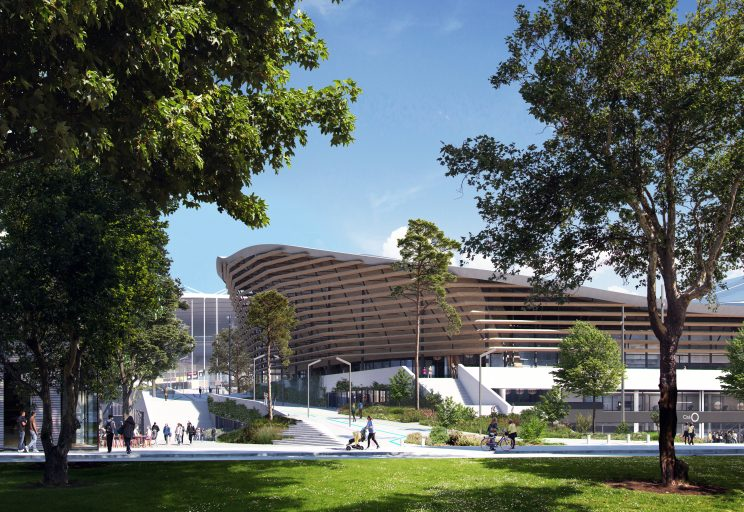 Find out about the Olympic Aquatics Centre