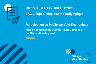 Contribuez à la PPVE pour le Village des athlètes !