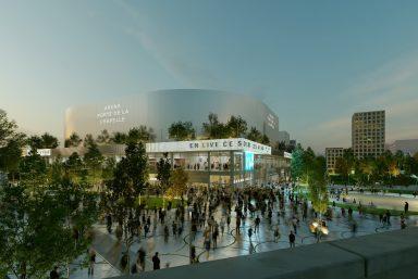 Découvrez l'Arena Porte de la Chapelle !
