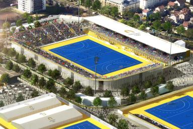Le stade départemental Yves-du-Manoir se modernise