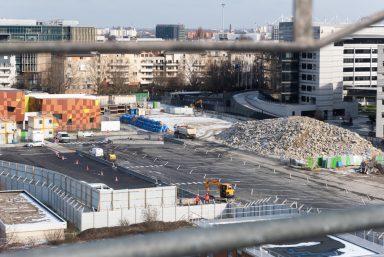 Village des athlètes – Les images du chantier en février
