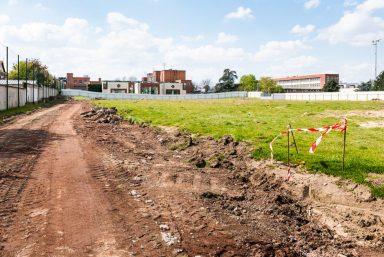 Le chantier en mai au Bourget et à Dugny