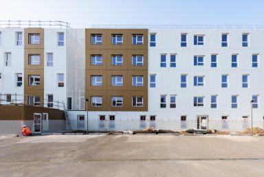 A Saint-Ouen, une résidence de qualité construite en 5 mois !