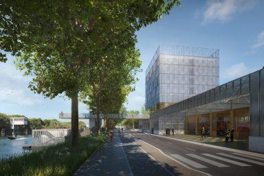 Réunion d'information – Future caserne de pompiers et base de police fluviale à Saint-Denis