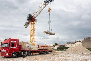 Le chantier en juillet et août à Dugny et au Bourget