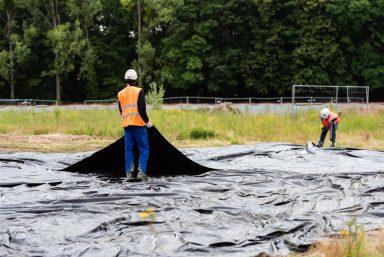 La Courneuve : dépollution du terrain des essences